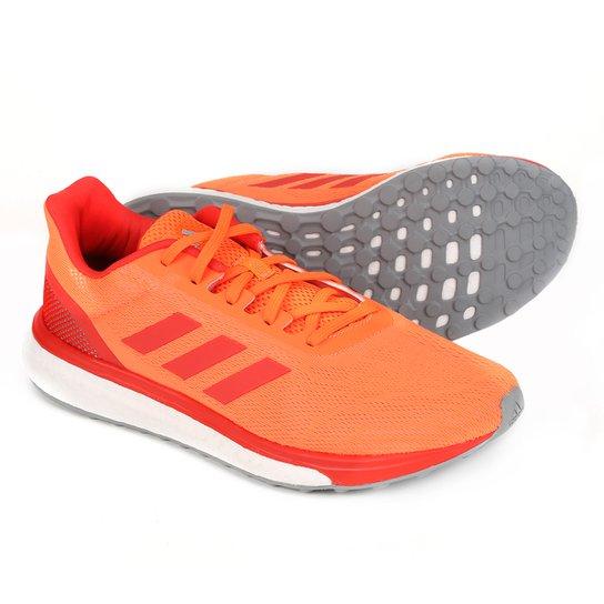 a47808b9b6 Tênis Adidas Response Masculino - Laranja+Vermelho