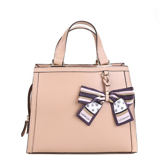 aa6930805 Bolsa Couro Luz da Lua Mini Bag Estruturada Lenço Feminina | Zattini