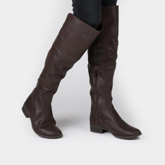 d35c8ad508 Bota Dakota Over Knee Elástico - Compre Agora