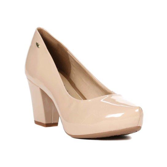 0e22e46a52 Sapato de Salto Feminino Dakota Meia Pata Nude - Compre Agora