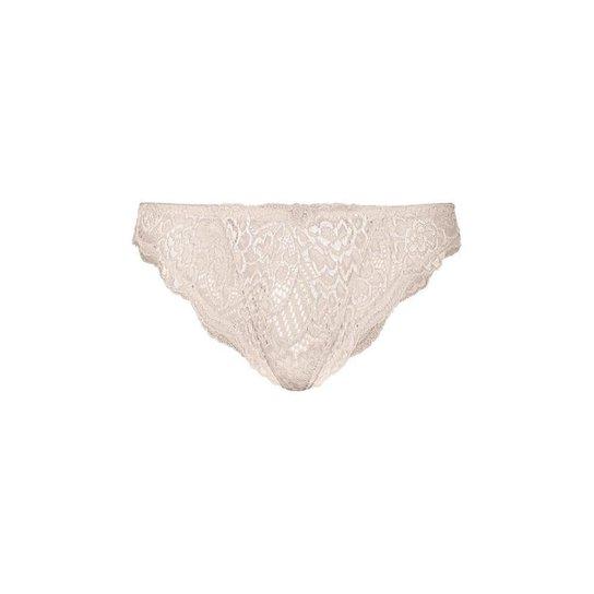 5f40479fc4 Calcinha Biquíni Em Renda - Nude - Compre Agora