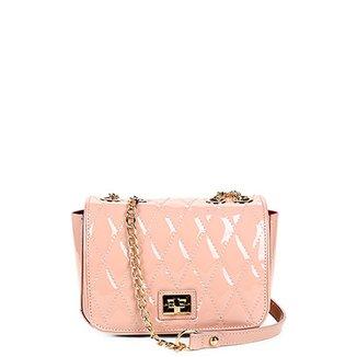 974b65fbdc Bolsa Couro Jorge Bischoff Mini Bag Verniz Feminina