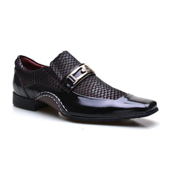 9a71c5c02 Sapato Social Masculino Calvest Super Confortável - Café | Zattini