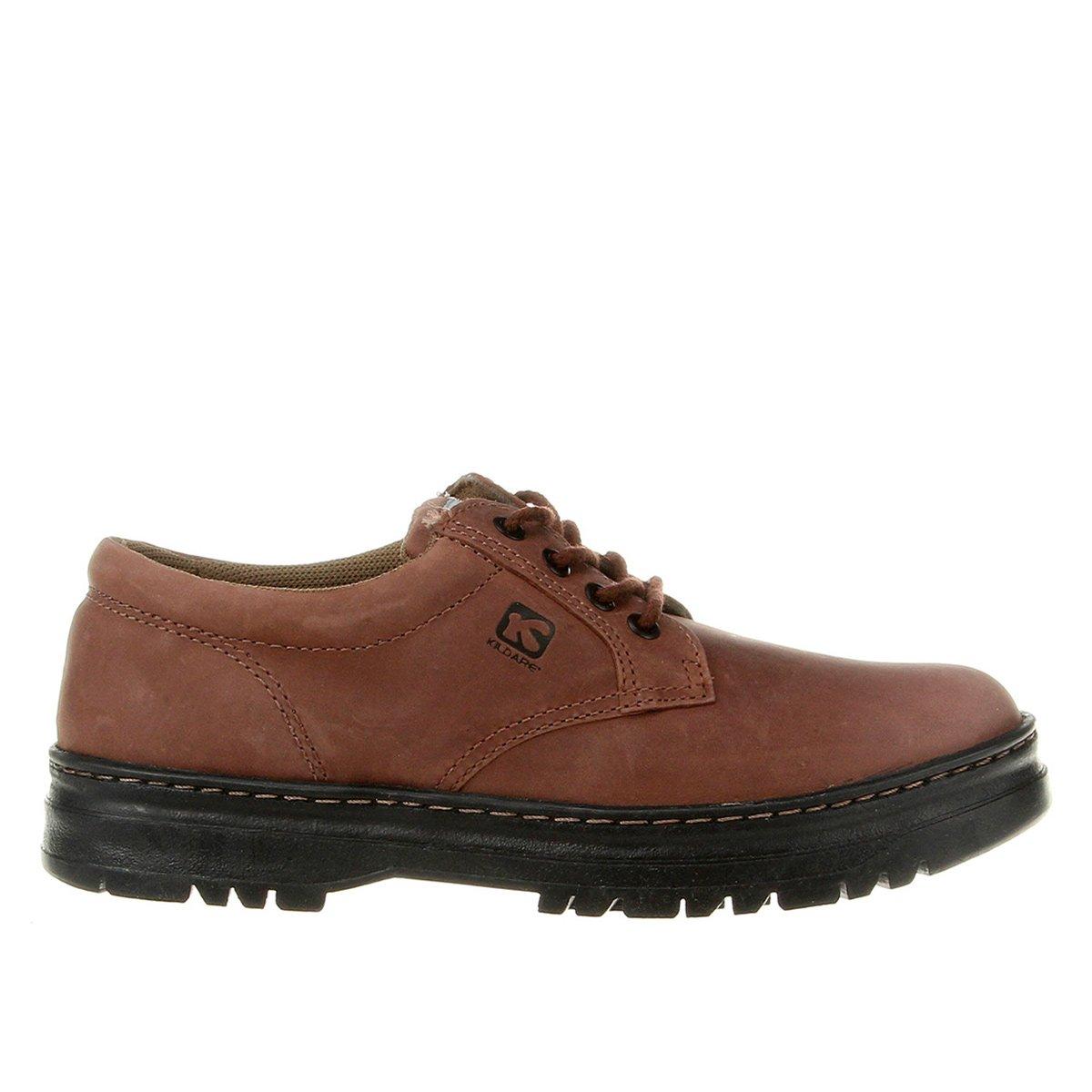 a61fe3857f Sapato Casual Couro Kildare Pespontos Tratorado