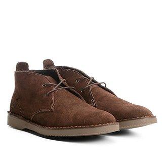 f75b0c829 Sapato Casual Couro Kildare Camurça Masculino
