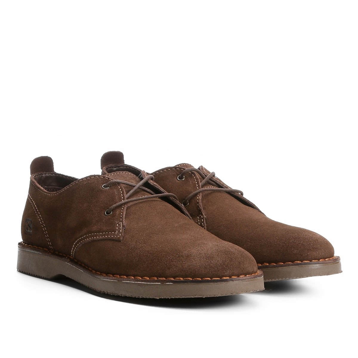 Sapato Casual Couro Kildare Filey Camurça Masculino