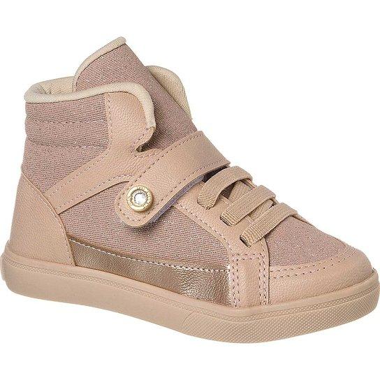 dc920f0f47 Tênis Infantil Feminino Klin Baby Gloss Street Cano Alto - Compre ...