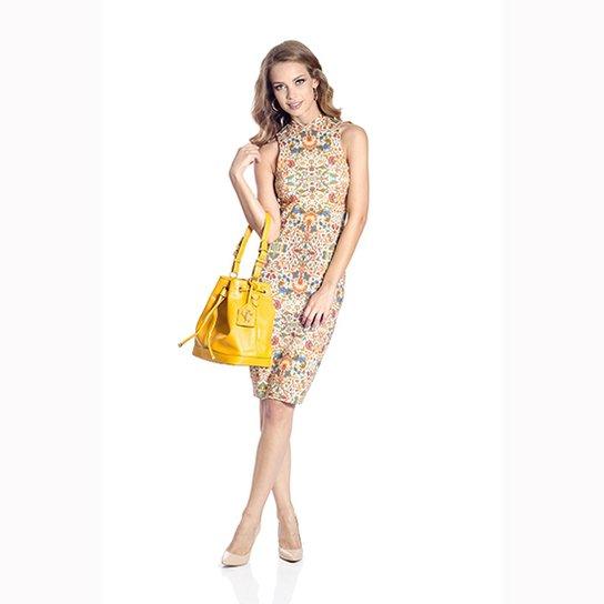 2839add18 Vestido Midi Floral Colcci - Compre Agora   Zattini