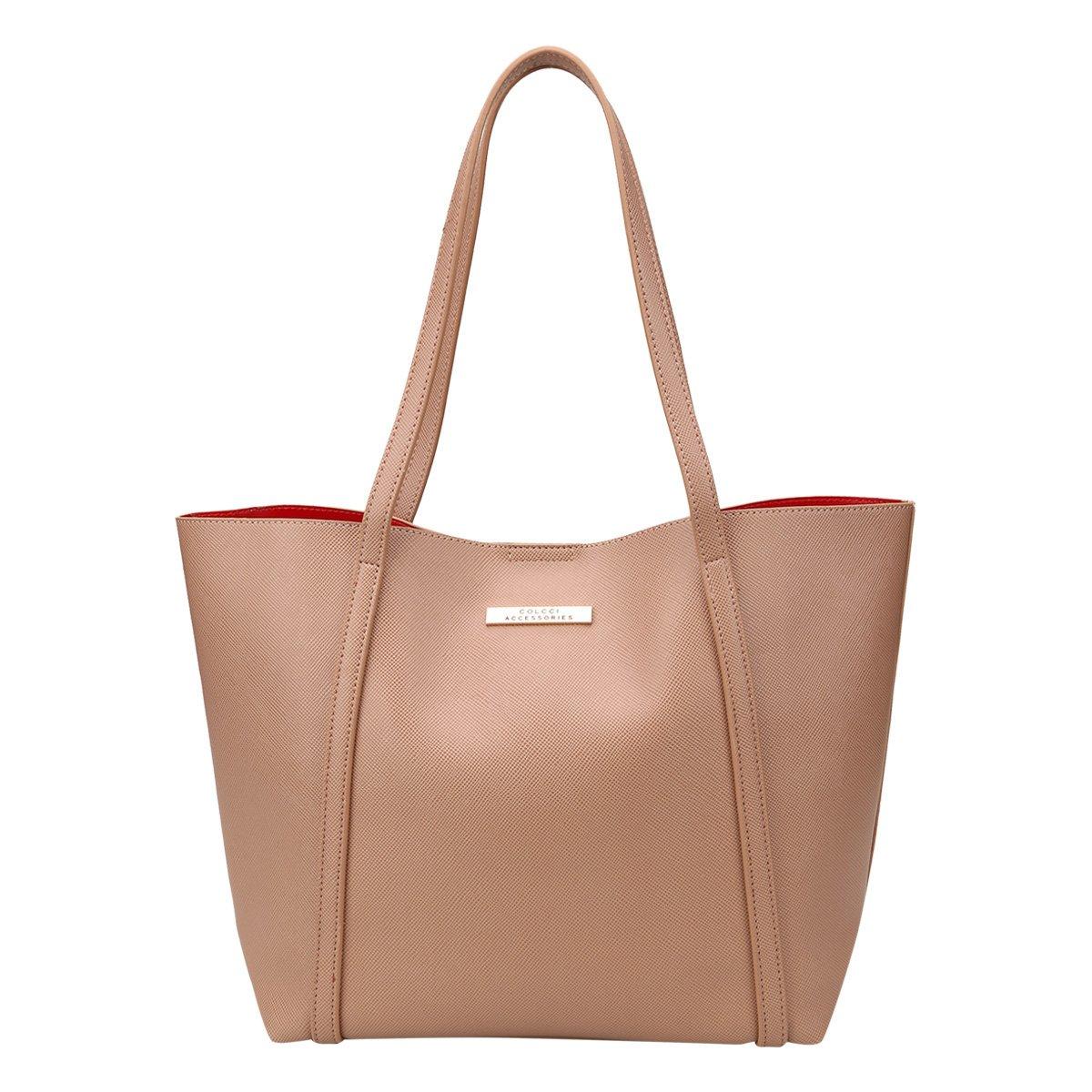 b25c2c19e Bolsa Colcci Shopper Plaquinha Feminina | Livelo -Sua Vida com Mais ...