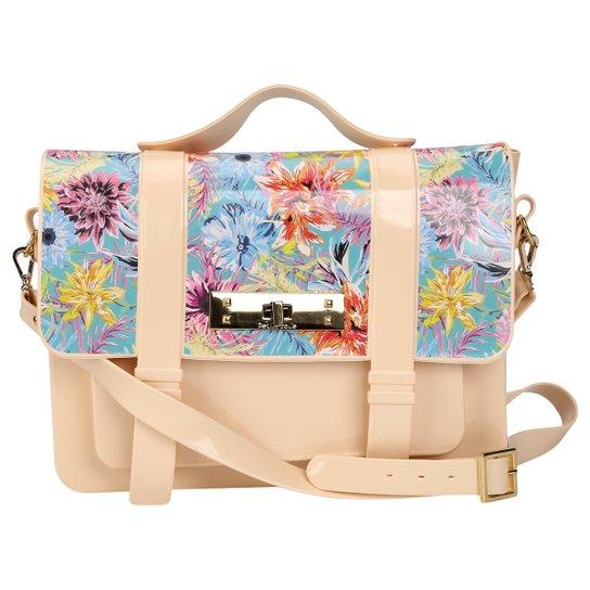 Bolsa Petite Jolie Satchel Floral - Compre Agora  33a83b24998