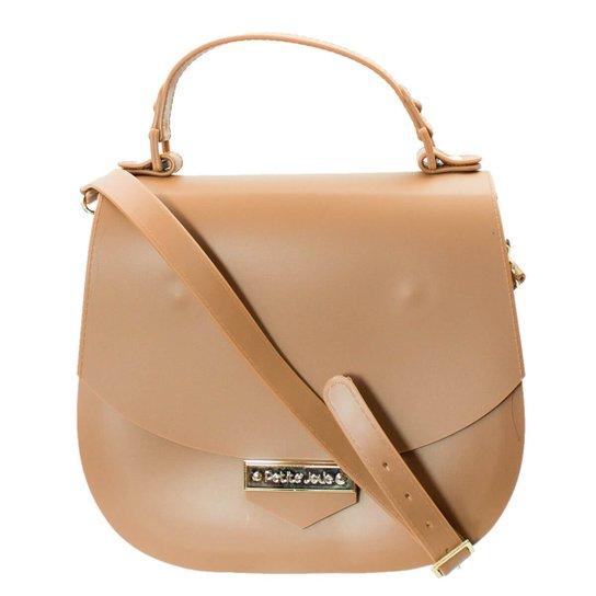 Bolsa Feminina Petite Jolie PVC Pj3031 - Nude - Compre Agora  971347ef086
