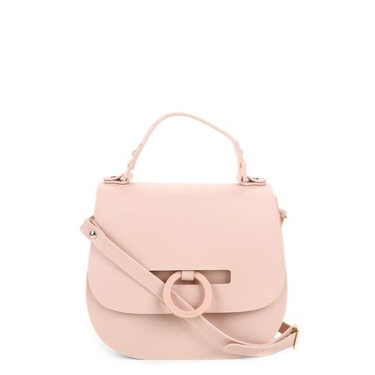 Bolsa Petite Jolie Flap Saddle Feminina - Nude - Compre Agora  b69ba17c152