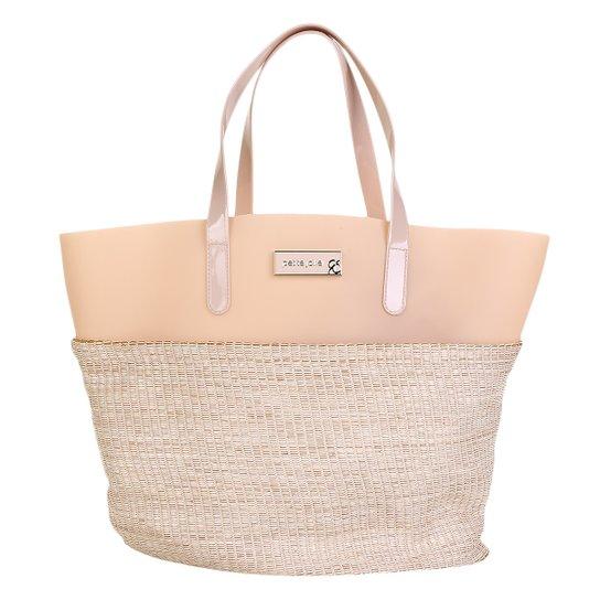 Bolsa Petite Jolie Shopper Judy Feminina - Nude - Compre Agora  c90af02ded5