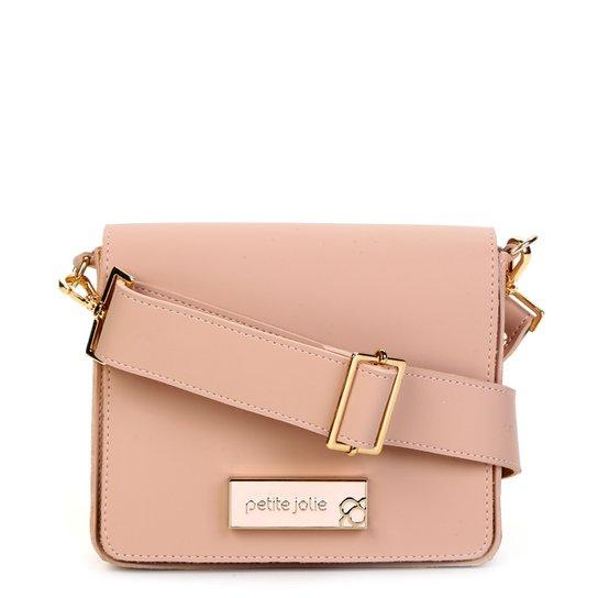 Bolsa Petite Jolie Mini Bag Básica Rose Feminina - Nude - Compre ... 736105c15a5