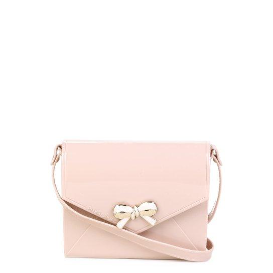 Bolsa Petite Jolie Mini Bag Laço Feminina - Nude - Compre Agora ... bb42f5dfae2