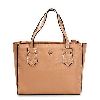 65641a5fe Bolsa Couro Capodarte Mini Bag Alça Dupla Feminina