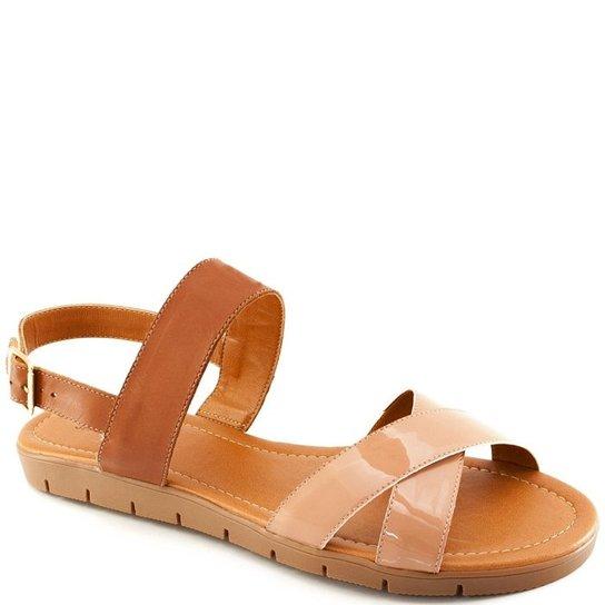 cbc77217ff Sandália Rasteira Numeração Especial Sapato Show e - Compre Agora ...