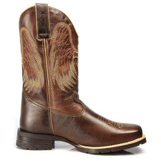 Bota Texana Country Capelli Boots em Couro Bico Quadrado Masculina d01437ee51a