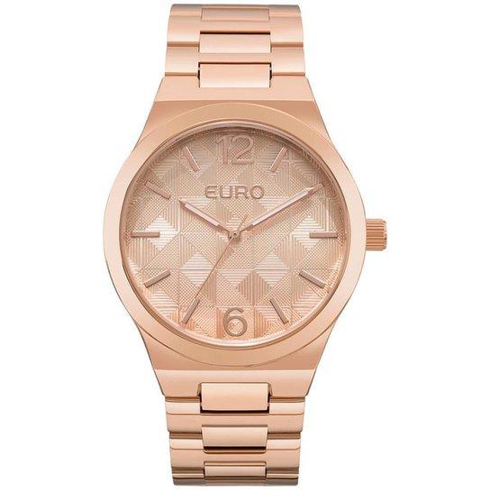 Relógio Feminino Euro EU2036YLN 4T 44mm Pulseira Aço Rosê - Compre ... da77a0d5db