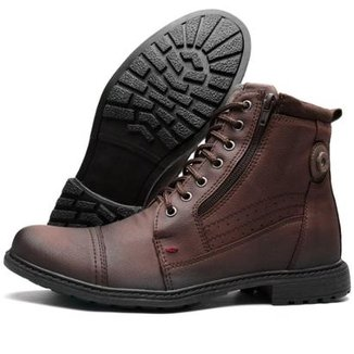 Bota Casual Fort Way Masculina c  Zíper 045190152a3