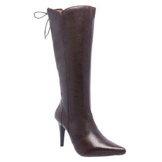 0a95cf4c31e Bota Couro D R Shoes Feminina