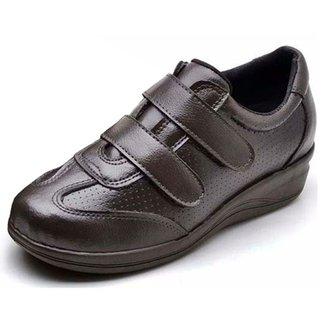 4d15daed8 Sapato Conforto Pizaflex Confort Antistress Feminino