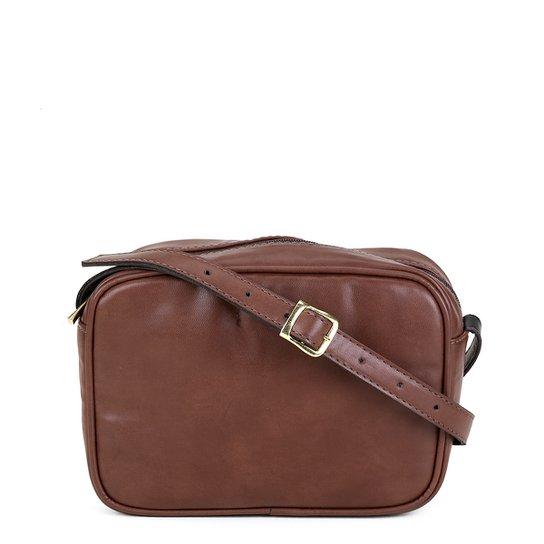 ab7204b36 Bolsa Dergham Mini Bag Quadrada Transversal Feminina - Café   Zattini