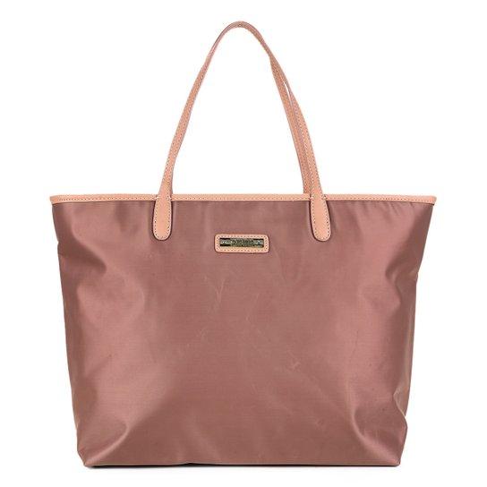 9020f1650 Bolsa Santa Lolla Shopper Nylon Feminina - Nude | Zattini