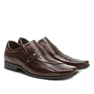c2377145fb Sapato Social Couro Walkabout Textura