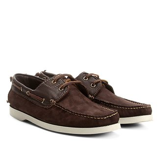 4971c053a5 Sider Couro Walkabout Nobuck Masculino
