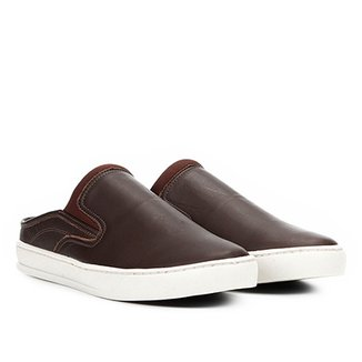 40e1d775a Slip On Couro Walkabout Mule Masculino
