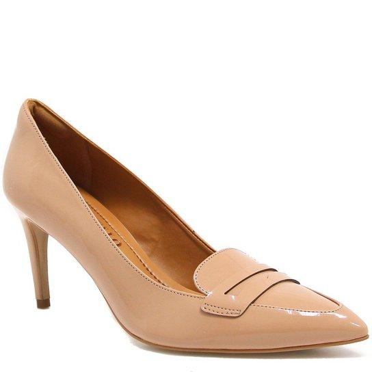 f663c3a945 Sapato Cecconello Scarpin Verniz - Nude - Compre Agora