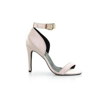 4bda48aa1 Sandália Vegano Shoes Luisa Mell Salto Fino Águia Feminina