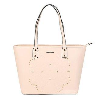 10dd46769 Bolsa WJ Shopper Apliques Feminina