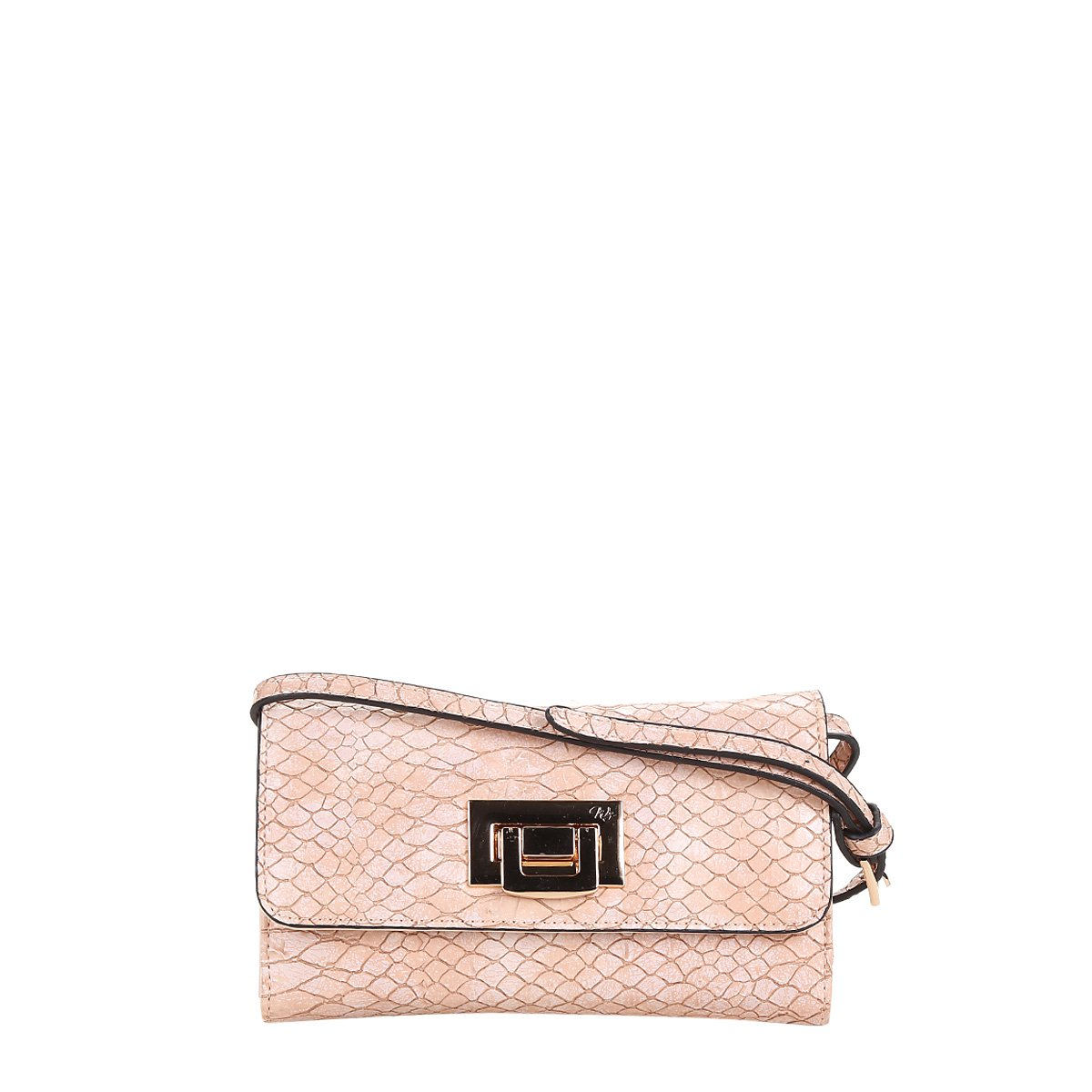 040731214 Bolsa WJ Mini Bag Crossbody Croco Feminina