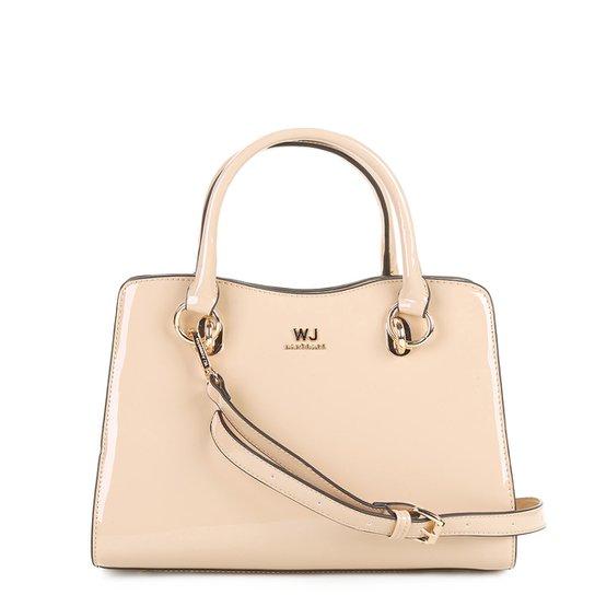 eee477f92 Bolsa WJ Handbag Verniz Feminina | Zattini