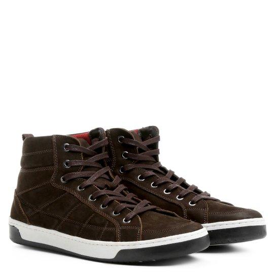 1cd0055cf3 Sapatênis Couro Shoestock Cano Alto Masculino - Compre Agora