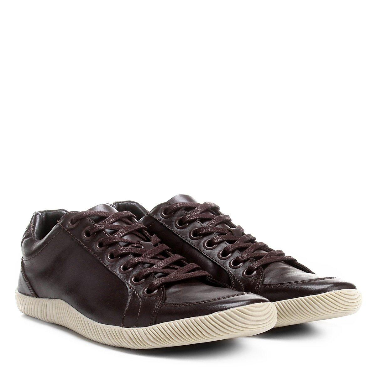 28f0ca3a8f Sapatênis Couro Shoestock Masculino