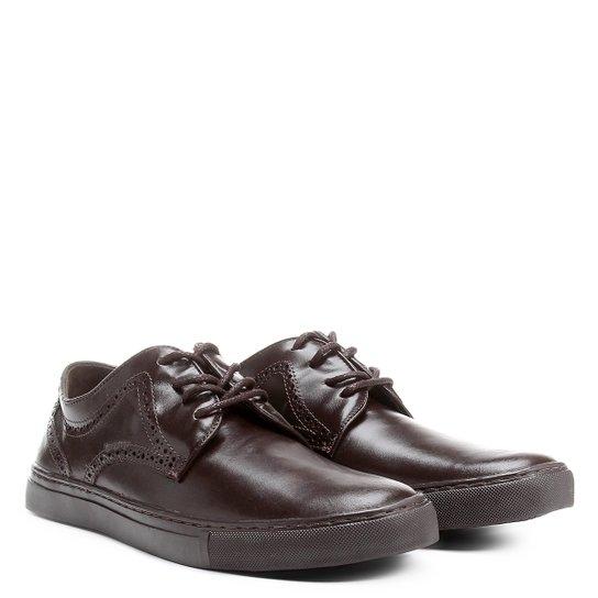 e08c35ee36 Sapatênis Couro Shoestock Masculino - Compre Agora