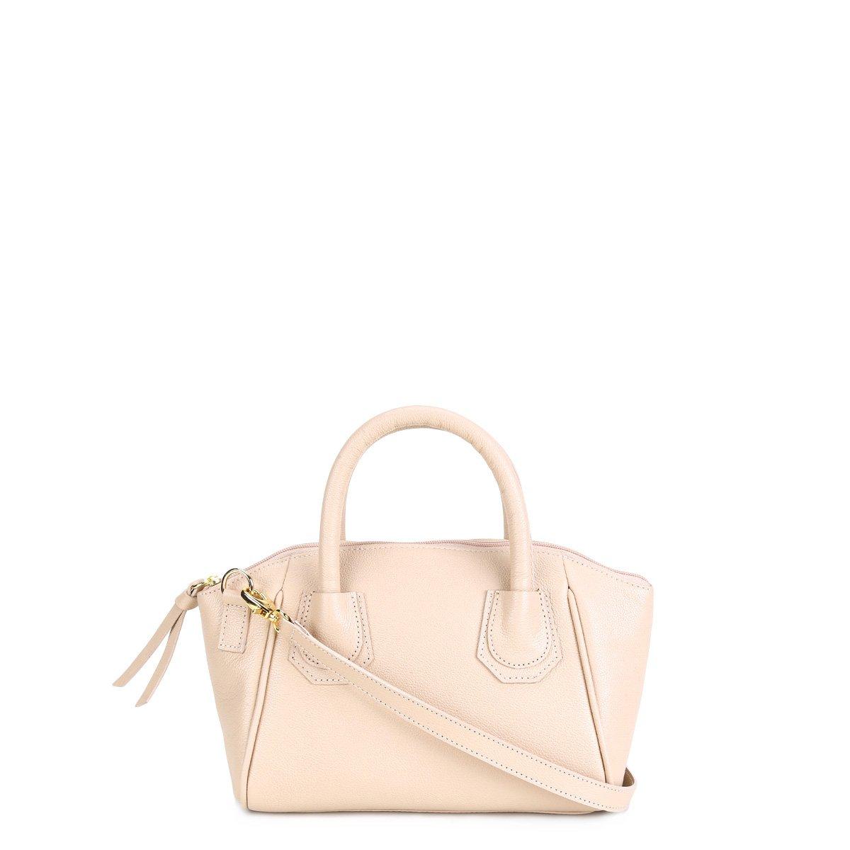 3652c8b62 Bolsa Couro Shoestock Mini Bag Clássica Tiracolo Feminina | Livelo ...