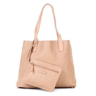 1772bb608 Bolsa Shoestock Shopper Textura Feminina