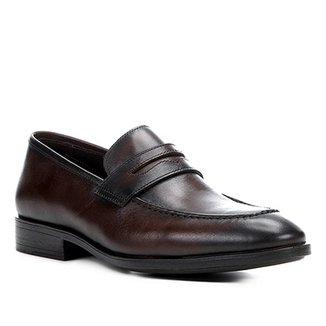4665532412 Sapato Social Couro Shoestock Loafer Masculino