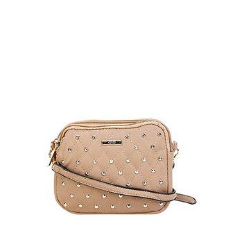 53f690393 Bolsa Gash Mini Bag Aplique Tachas Alça Transversal Feminina