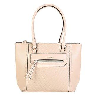 a2a18d193 Bolsa Sacola Chenson Shopper Matelassê Básica Feminina