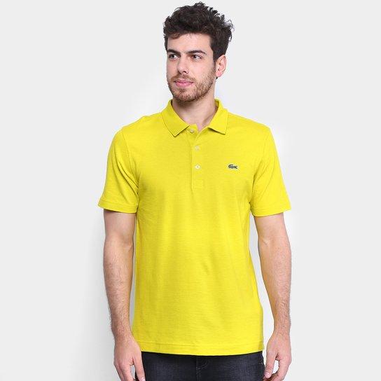 36a536af6733c Camisa Polo Lacoste Super Light Masculina - Bege - Compre Agora ...