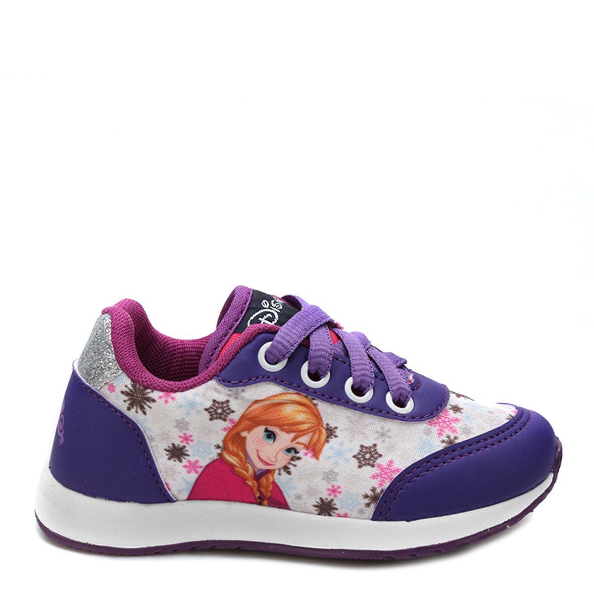 80eee3846f Tênis Infantil Disney Frozen Feminino