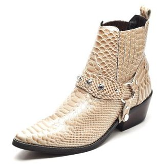 Bota Couro Country Top Franca Shoes Masculino 977d6bcf1e786