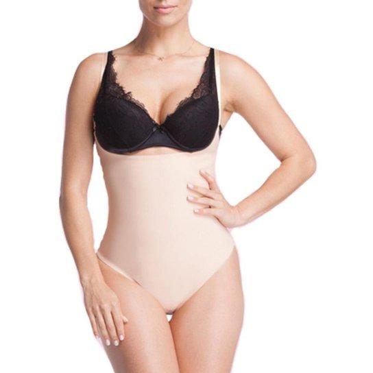 5c9d99195 Cinta Body Emborrachada Compressão Feminina Modeladora - Bege | Zattini