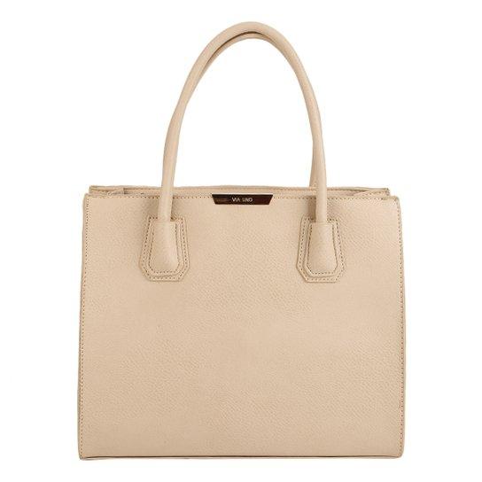 52b1048af Bolsa Via Uno Shopper Estruturada Feminina | Zattini