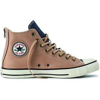 2aa6af3e059 Tênis Converse All Star Ct As Back Zip Leather Hi